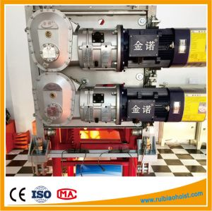 11kw 15kw Worm Gearbox for Construction Hoist pictures & photos