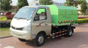 Garbage Truck with Detachable Carriage and Automatic Collection pictures & photos