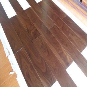 Manufacturer UV Lacquered American Walnut Engineered Wood Flooring