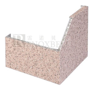 Granite Vein Finished Aluminum Honeycomb Wall Cladding pictures & photos