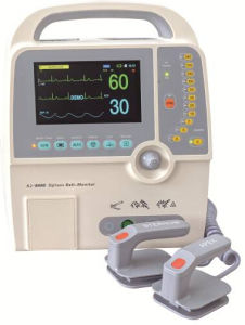 Defibrillator with Monitor Aj-8000d (Biphasic Technology) pictures & photos