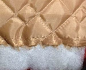 Quilted Lining (polyester taffeta fabric quilted with polyester wadding) pictures & photos