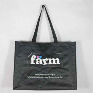 Non Woven Promotional Bag, with Custom Design/Size and Logo Imprint (MECO136) pictures & photos