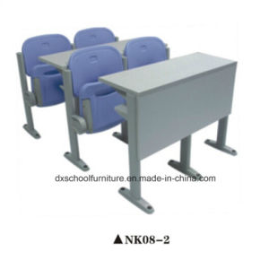 School Furniture College Desk and Chair for Classroom pictures & photos