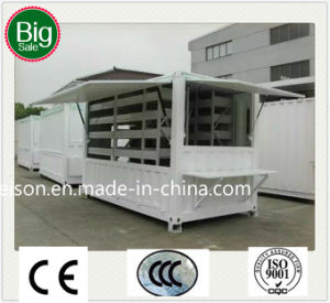 Low Cost Outside Mobile Prefabricated/Prefab Guard House for Hot Sale pictures & photos