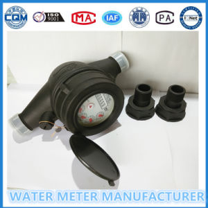 Dn20 Plastic Domestic Water Flow Meter pictures & photos