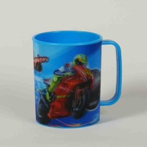 2015 Newest Online Lenticular Cup with Handle pictures & photos