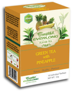 Pinapple Flavored Green Tea Pyramid Tea Bag Premium Blends Organic & EU Compliant (FTB1504) pictures & photos