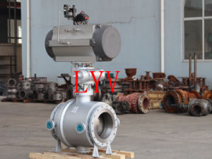 Top Entry Forged Steel Ball Valve with Flanged End pictures & photos