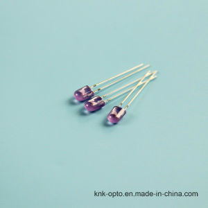 5mm Oval Purple Diffused LED pictures & photos
