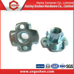 Zinc Plated Tee Nut with Hole / T Nut pictures & photos