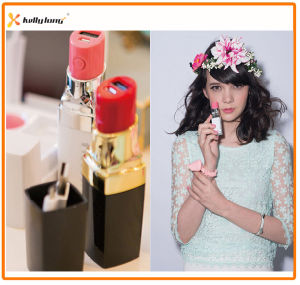 2400mAh Fashion Lipstick Backup Battery Power Bank pictures & photos