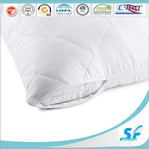 Top Quality 100%Cotton Quilted Pillow Cover/Pillow Case/Pillow Protector pictures & photos