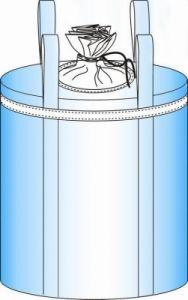 Circular Ton Bag: Fully Belted, Two Lifting Loops, Circular Bottom pictures & photos