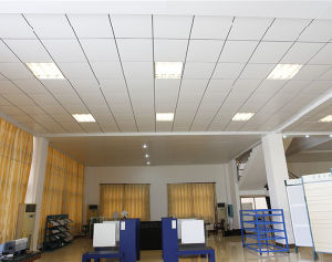 Metal Ceiling Aluminum Powder Coated Lay-in Ceiling Panel Suspened Ceiling Match T-Grid pictures & photos
