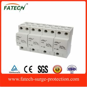 Alibaba India Type 1 50kA 3 Phase Lightning Arrester Surge Protector 4 Pole SPD pictures & photos