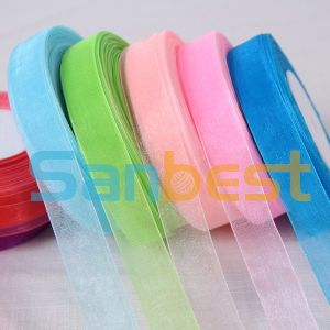 New Design Beautiful Package Nylon Organza Ribbon pictures & photos