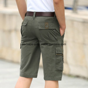High Quality Cotton Casual Pants Mens Short Beach Pants pictures & photos