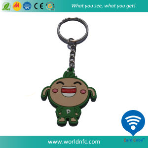 Customized 125kHz T5577 Silicone RFID Keyfob, Key Tag pictures & photos