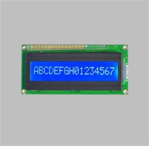 16X1 Character LCD Module Display with Blue Background pictures & photos