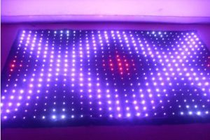 Flexible LED Display Curtain for Festival Celebration pictures & photos