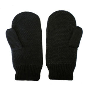 Black Warm Knitted Winter Gloves (JRJ040) pictures & photos