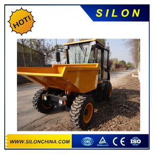 Mini Dumper with Snowplow for Farming Using pictures & photos