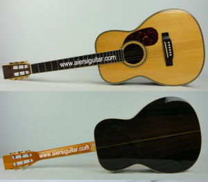 Aiersi Hot Sale All Solid Martin Vintage Acoustic Guitar Mg03sr pictures & photos