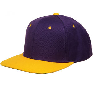 Custom Yellow Sports Flat Hip-Hop 6 Panel Snapback Caps pictures & photos