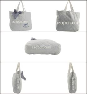 Lady Fashion Tote Handbag with Cotton Rope Handle pictures & photos