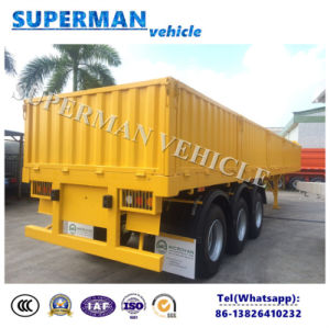 13m Compartment Store House Flatbed Truck Semi Trailer pictures & photos