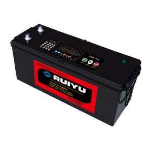 12V Voltage 135ah, 101 - 150ah Capacity Heavy Duty Truck Battery pictures & photos