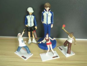 Super Star Sport Figure of PVC Toys pictures & photos