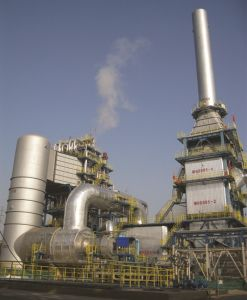 Waste Gas & Liquid Thermal Oxidizer with Waste Heat Recovery System