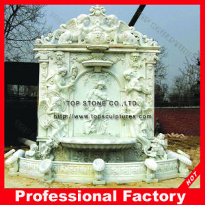 Marble Carving of Wall Stone Fountain pictures & photos
