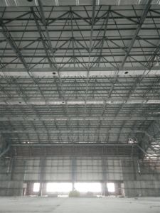 Large Span Steel Space Frame Structure Used for Industrial Storage pictures & photos