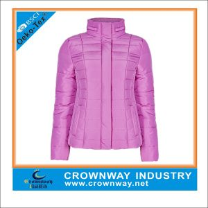 Wholesale Women Quilted Winter Coat Padding Jacket pictures & photos