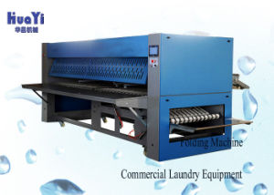 Fast Speed Fully Automatic Industrial Laundry Sheet Folding Machine pictures & photos
