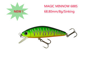 Hard Fishing Lure (Magic Minnow 688S Sinking) pictures & photos