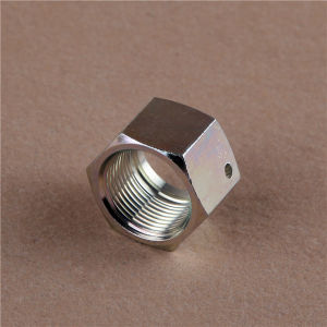 Orfs Male Flat/ Bsp O-Ring Seal Nut Steel Fitting pictures & photos