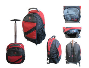 Outdoor Top Quality Polyester Trolley Backpack (W11125) pictures & photos