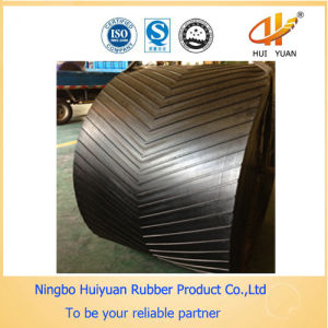 Chevron Height 25mm Conveyor Rubber Belt pictures & photos