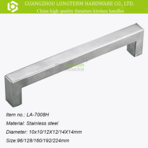 Modern Popular Square Stainless Steel Furniture Cabinet Handle pictures & photos