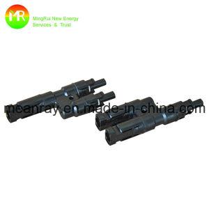 Mc4 Y-Branch Cable Connector pictures & photos