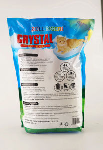 Katze King 4L Silica Gel Odor Control Cat Litter pictures & photos