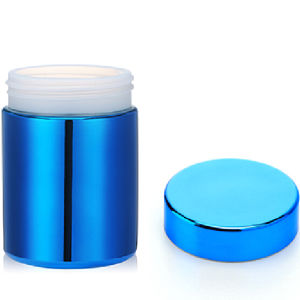 32 0z/850 Ml HDPE Chrome Plastic Supplement Container pictures & photos