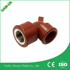 High Toughness and Strength PPH Threaded Pipe Fittings and Elbow pictures & photos