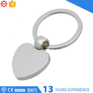 New Design Zinc Alloy Round Blank Keychain pictures & photos
