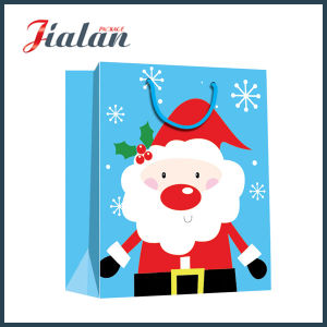 Fashion Cheap Custom Merry Christmas Wholesales Printed Paper Package Bag pictures & photos