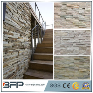 Black/Grey/Yellow/Rusty Natural Stone Slate Floor Tile for Indoor Outdoor Flooring, Wall pictures & photos